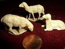 Vintage Plastic Minature Sheep
