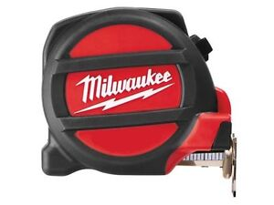 Milwaukee-5m-Metric-only-Magnetic-Tape-Measure-Dual-Magnet-27mm-Blade-Width