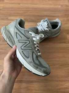 timeless design e411d aa825 Details about New Balance NB 990 V4 Running Sneakers Shoes Size Men's 10.5