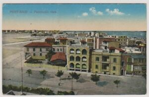 Egypt-postcard-Port-Said-Panoramic-View-A32