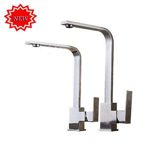 360-Wasserhahn-Kuechenarmatur-Einhebelmischer-Spueltischarmatur-Armatur-Kueche