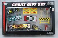 Redbox Toy Factory 2007 motormax Gift Set With Diecast Metal And Plastic