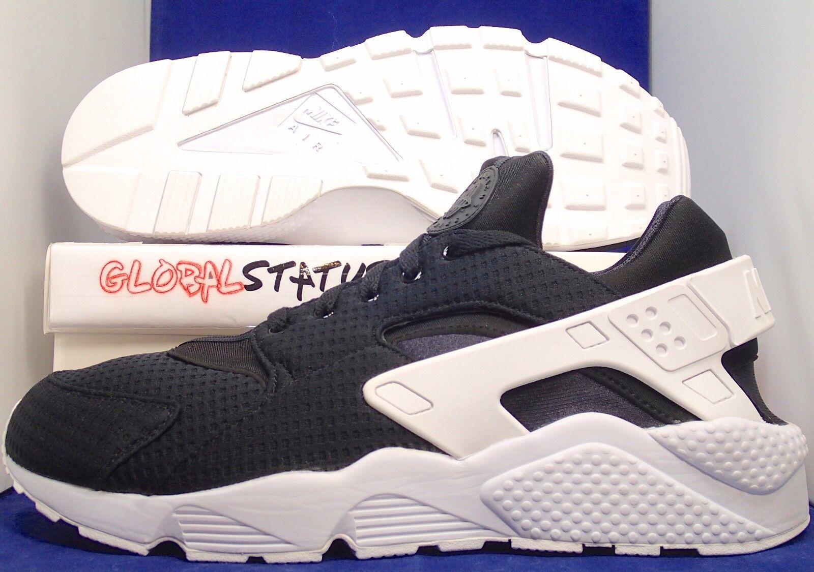 Cheap women's shoes women's shoes MENS NIKE ID AIR HUARACHE RUN BLACK WHITE RETRO RUNNING SHOES 777330 981 SIZE 15