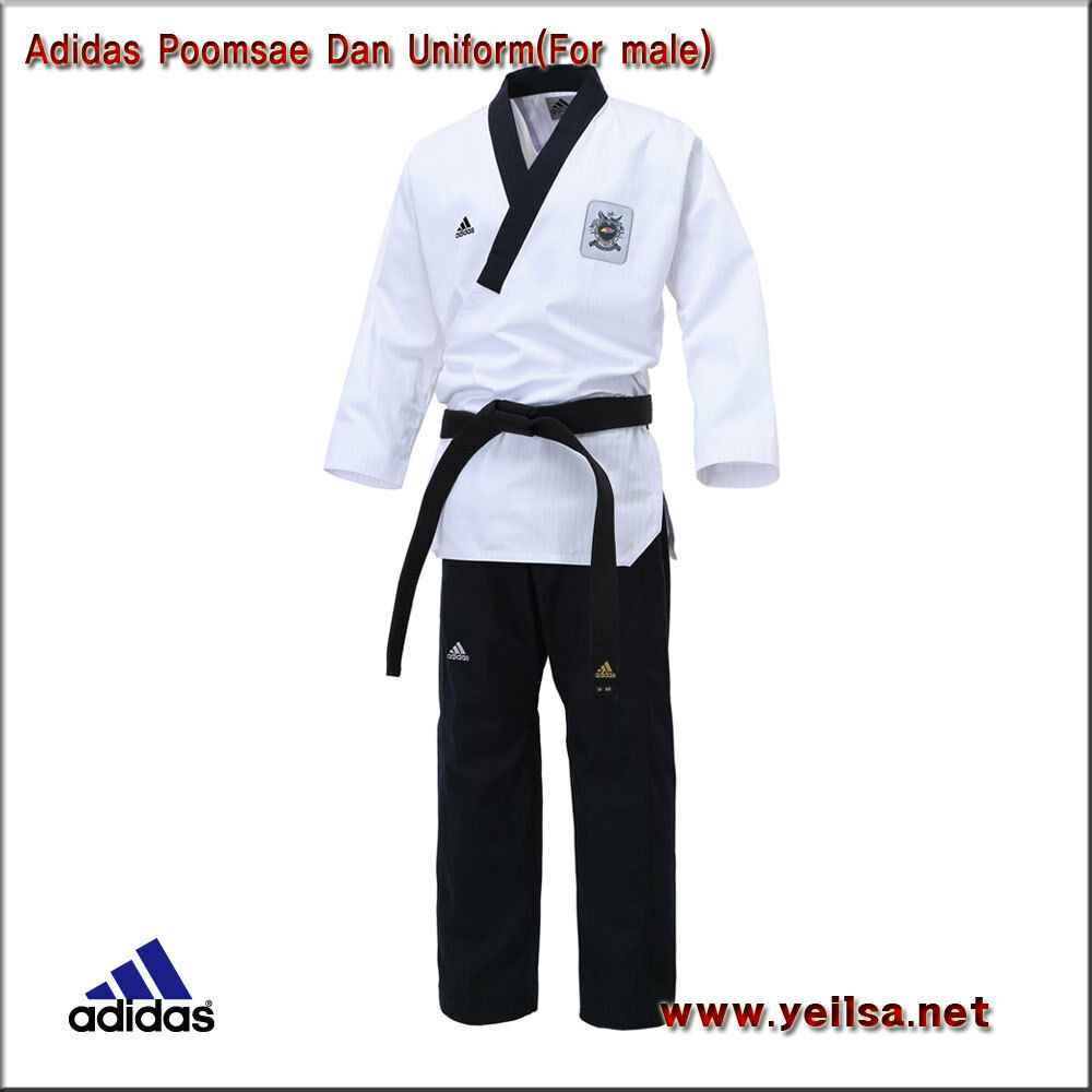 Adidas  WTF Poomsae Dan Uniform For Male TaeKwonDo Poomsae Uniform Martial arts  factory outlet store