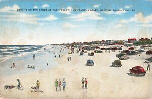 Postcard-Driving-on-the-Sands-Daytona-Beach-Florida