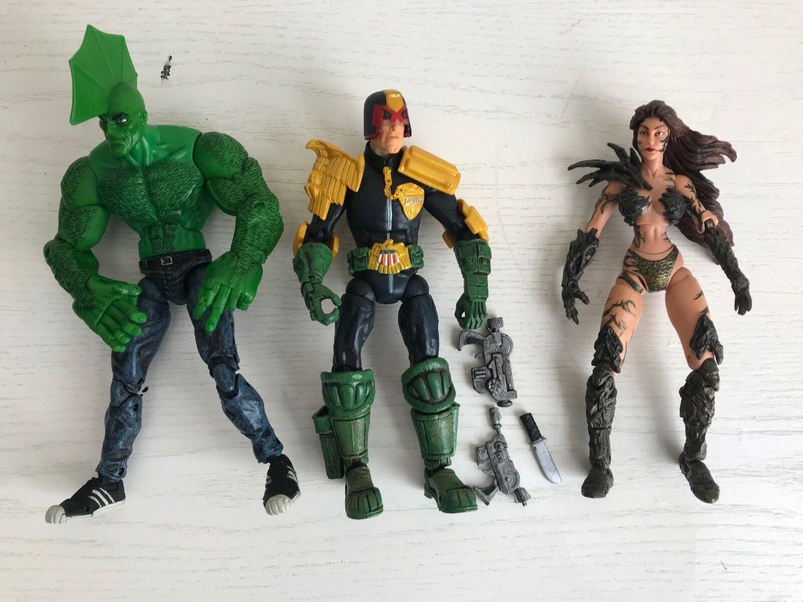 Spielzeugbiz Legendary Comic Book Heroes serie 1 Complete Set Loose NO BAF