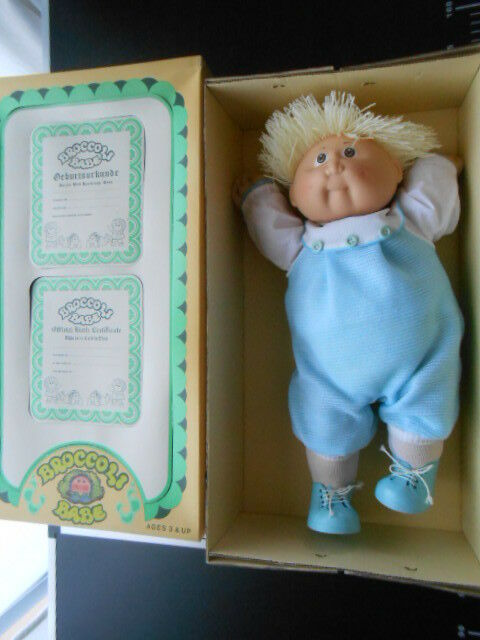 CABBAGE PATCH Vintage Broccoli Babe 2 Doll Vintage