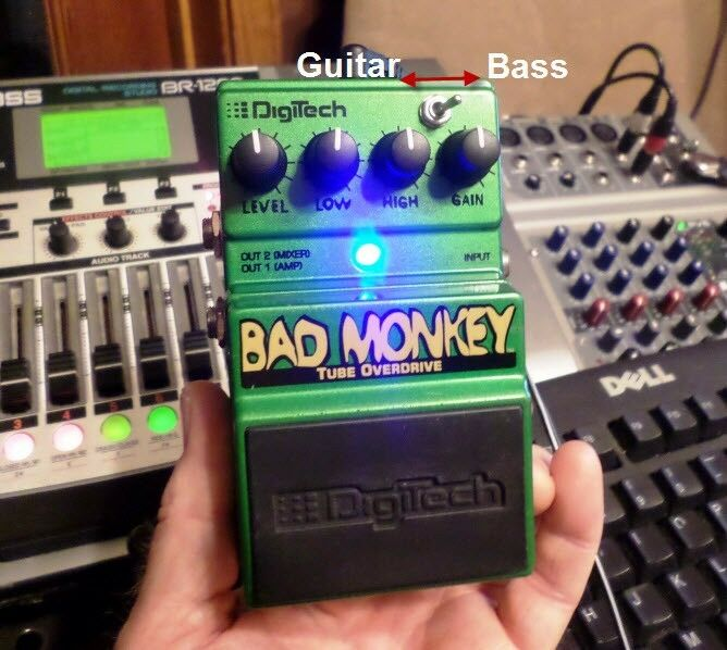 DigiTech Bad Monkey, Modified for Bass Players