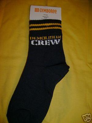 NWT Gymboree dig dig dig demolition crew socks 3t 4t 4