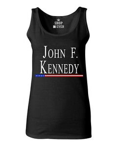 c22671386eac38 John F. Kennedy Women s Tank Top President USA Political Patriotic ...