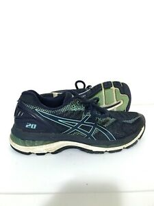 ASICS-Gel-Nimbus-20-Womens-Running-Shoes-Sneakers-Blue-Green-Size-8-5-T850N