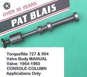 torqueflite 727 904 1964 1965 valve body manual valve console rh ebay com HP Owner Manuals Service ManualsOnline