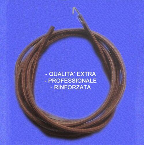 0133 CINGHIA IN CUOIO qualità extra rinforzata PER MACCHINE DA CUCIRE A PEDALE