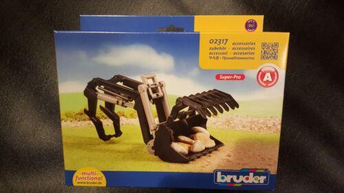 BRUDER BWORLD 02317 FRONT LOADER FOR 02000 SERIES TRACTORS SAVE 6/% GMC