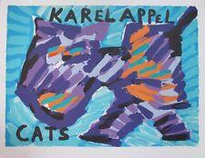 KAREL APPEL   Gr Litho    HAPPY CAT uit 1978