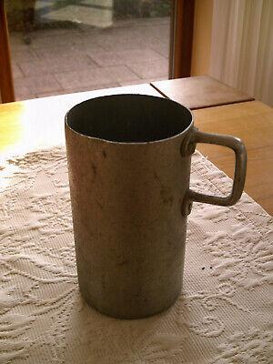 1,0 Liter Motiviert Aluminium Maß / Messbecher Vintage Gute Begleiter FüR Kinder Sowie Erwachsene Ca