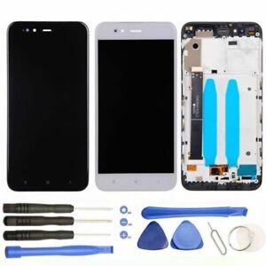Pantalla-para-Xiaomi-Mi-A1-5X-MiA1-Tactil-Mi5X-LCD-Tactil-CON-MARCO-Negra-Blanca