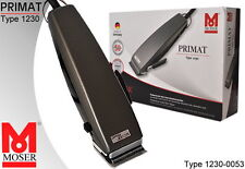 Moser 1230-0053 Primat Titan Haarschneidemaschine / Haarschneider NEU
