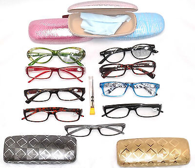 1.50 CLEARANCE DEAL LOT 3 WOMEN OPTICAL READING GLASSES  LADIES
