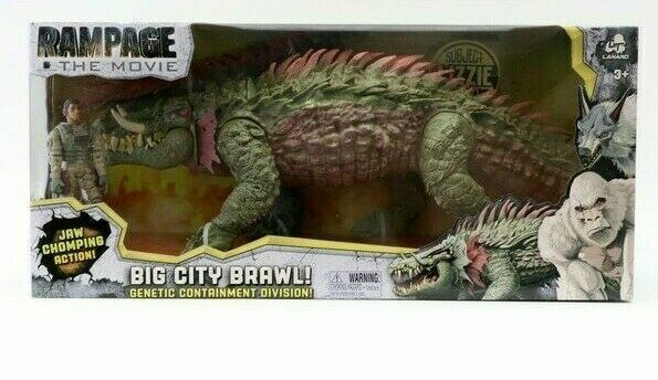 Lanard Toys Rampage The Movie Lizzie Action Figure Kaiju Monster