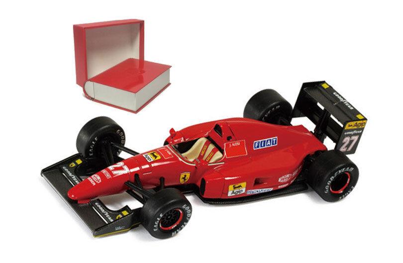 IXO SF18 92 Ferrari F92A French GP 1992 - Jean Alesi 1 43 Scale