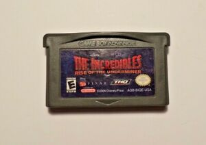 Nintendo-Gameboy-Advance-INCREDIBLES-UNDERMINER-No-Manual-No-Box-Tested