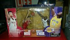 McFarlane NBA Yao Ming Rockets vs Shaquille O'Neal Lakers 2 Pack Action Figure