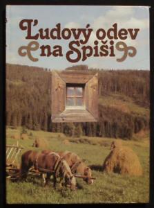BOOK-Slovak-Folk-Costume-Spis-kroj-peasant-village-fashion-ethnic-dress-SLOVAKIA