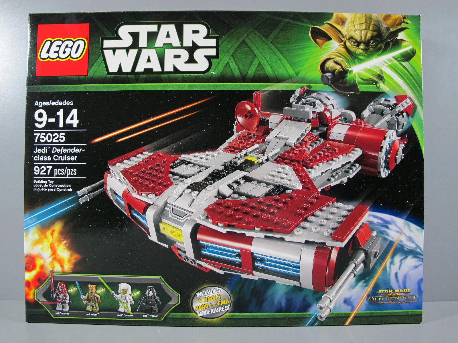 Nuevo Sellado Lego Star Wars 75025 Jedi Defender-class Cruiser