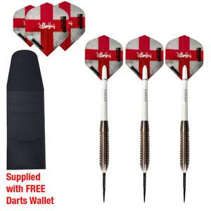 90/% Tungsten Darts Set in 24gram Precision Grip Spectre F2 Series