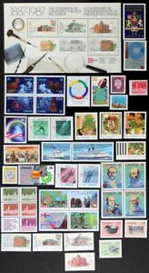 CANADA-Postage-Stamps-1987-Complete-Year-set-collection-Mint-NH-See-scans