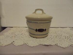 Vtg - Shawnee Pottery/Great Northern USA, Lidded Grease Bucket #1042