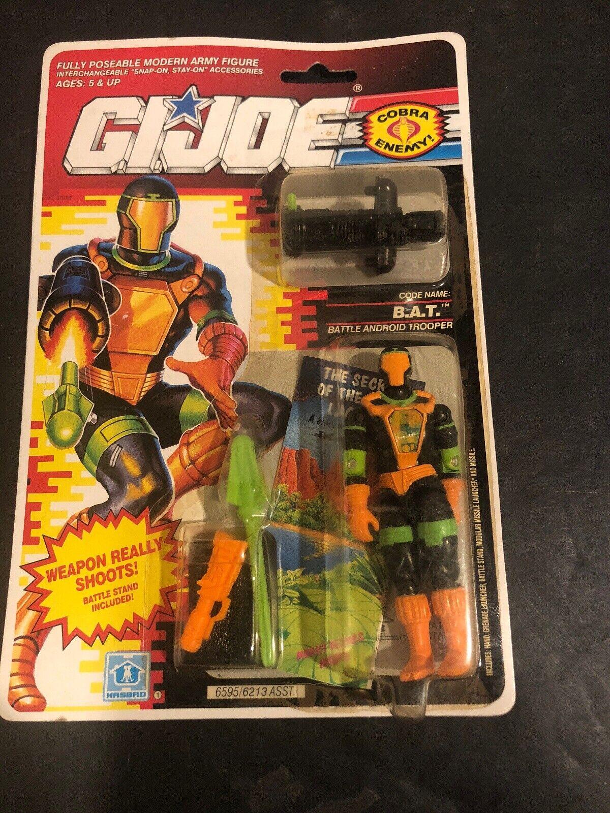 GI Joe Cobra B.A.T. 1991 1990 MOC Vintage Version 2 MIP AFA BAT B.A.T.S BATS