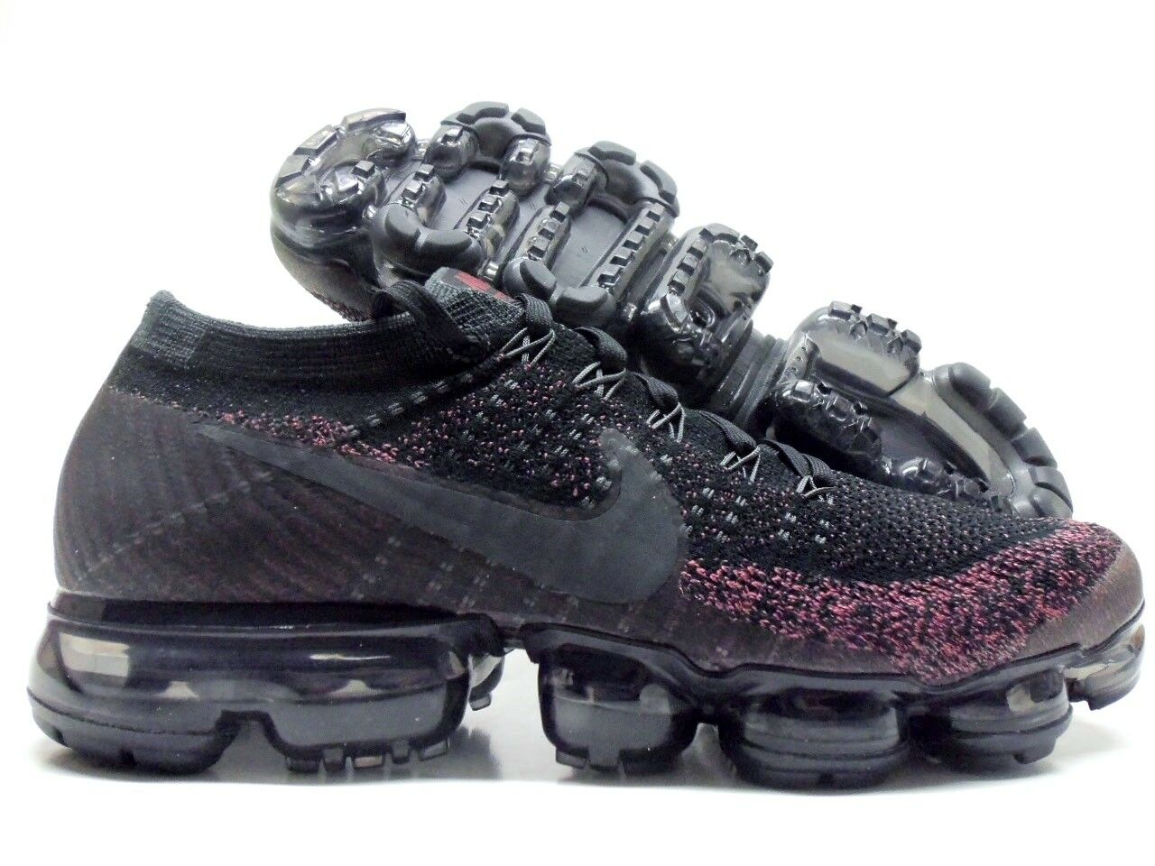 NIKE AIR VAPORMAX FLYKNIT BLACK ANTHRACITE SIZE WOMEN'S 10.5 MEN 9 [849557-007]