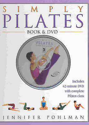 1 of 1 - Simply Pilates: Book & DVD by Jennifer Pohlman (Large, Hardcover), free post