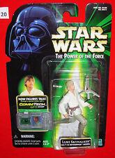 Star Wars LUKE SKYWALKER with T-16 SKYHOPPER MODEL POTF with COMMTECH Chip