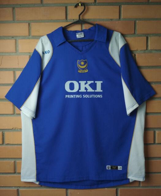 Portsmouth Jersey 2006 2007 Home XL Shirt Jako Football Soccer Trikot Maglia