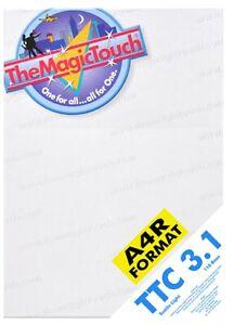 Le Magictouch Ttc 3.1 Textile Papier De Transfert Pour Personnalisé Impression T-shirt-afficher Le Titre D'origine Excellente Qualité