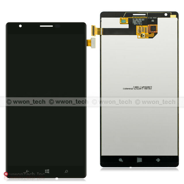 New Black Nokia Lumia 1520 Touch Screen Digitizer LCD Display Assembly