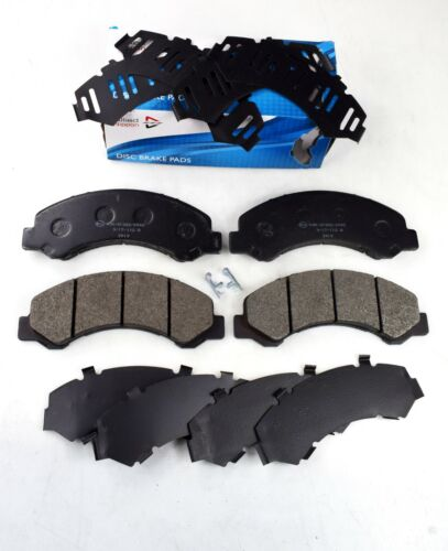 collectivedata.com COMLINE FRONT AXLE BRAKE PADS FOR ISUZU NKR NQR ...