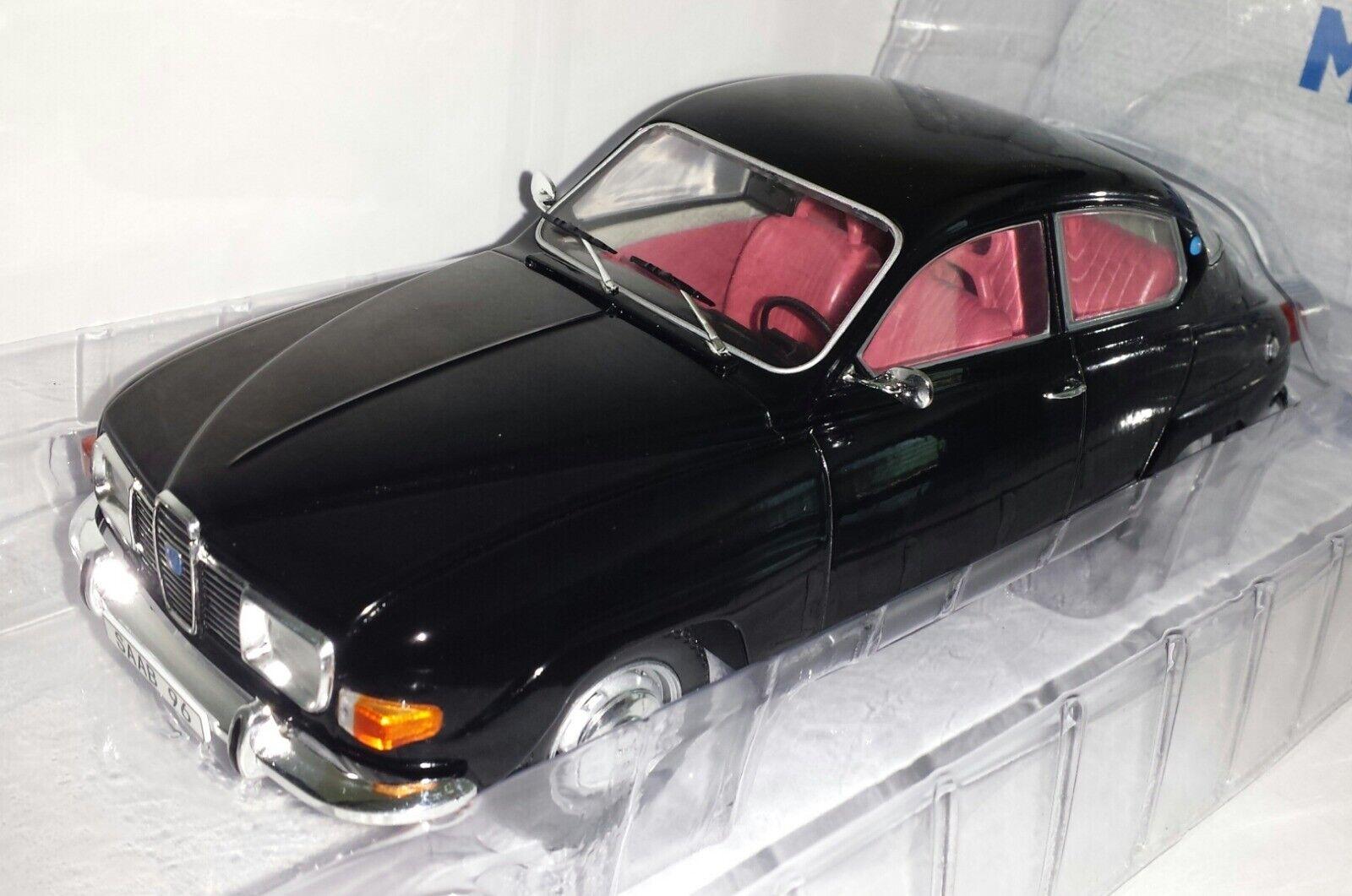 Model Car Group 1:18 Saab 96 V4 zwart nieuw in verpakking