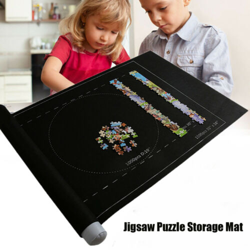 NEW PUZZLE ROLL-UP MAT JIGSAW JUMBO LARGE 1500 PIECES FUN GAME EASY STORAGE UK