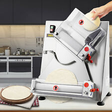 Vevor Electric Dough Sheeter Pizza Dough Roller Sheeter Stainless Steel Max 12