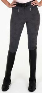Image Is Loading Rugged Horse Las Riding Breeches Style Fl2 Grey