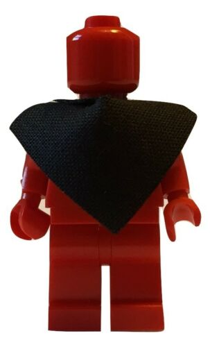 black for Lego Minifigures accessories Poncho