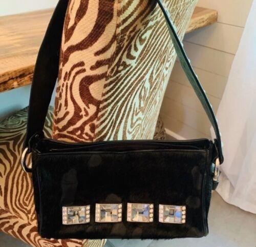 Authentic b.b. Simon Shoulder Bag With swarovski C