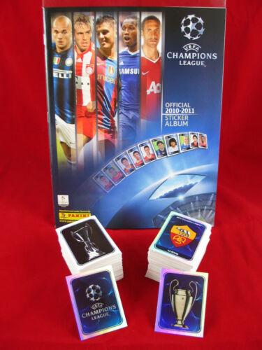 Panini Champions League 2010//2011 Satz komplett Album = alle Sticker CL 10//11