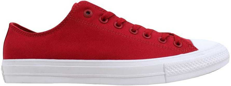 Converse Chuck Taylor II OX Salsa Rouge/Blanc 150151C Homme