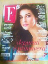 MONICA BELLUCCI NEW F MAGAZINE ITALY APRIL 2015 ANGELINA JOLIE MODELS LOOK