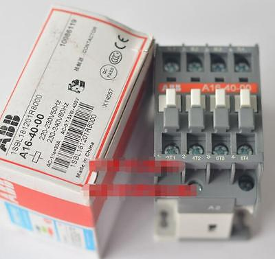 ABB Contactor A16-40-00 220V New in Box One Year Warranty!